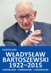 Plakat Bartoszewski-Ausstellung